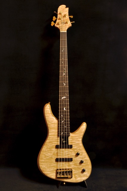 Sugi Guitars NB5HR EM/ASH/NAT Batinray