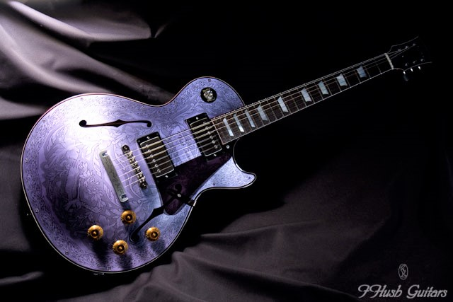 IHush Guitars LP Eagle