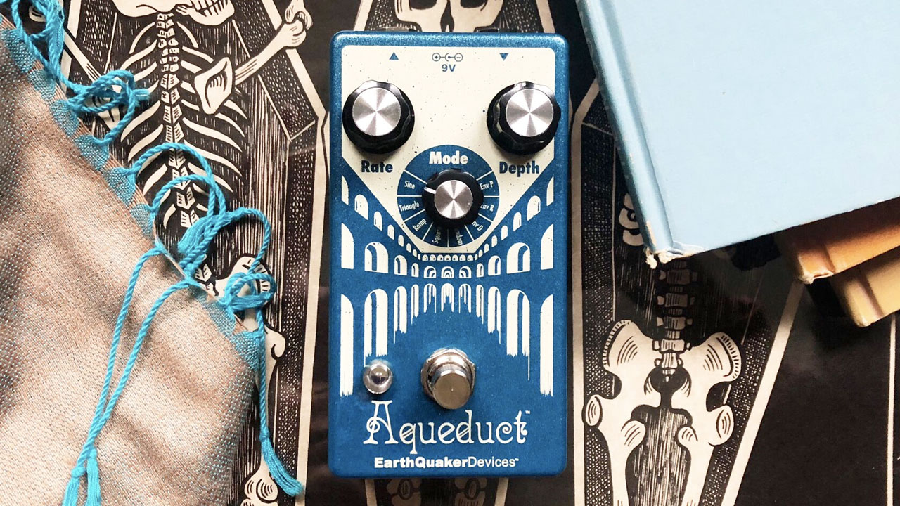EarthQuaker Devices Aqueduct ビブラート