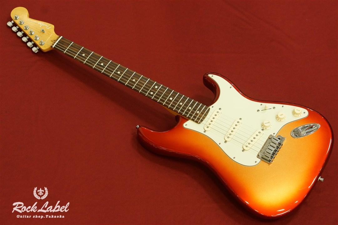 Fender USA American Deluxe Stratocaster - Sunset Metallic