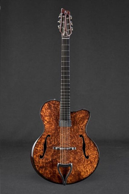 Emerald Guitars Archtop Redwood Burl 〜Proto Type〜