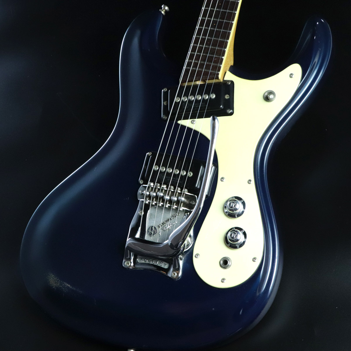 Mosrite  1965年製 The Ventures Model Ink Blue