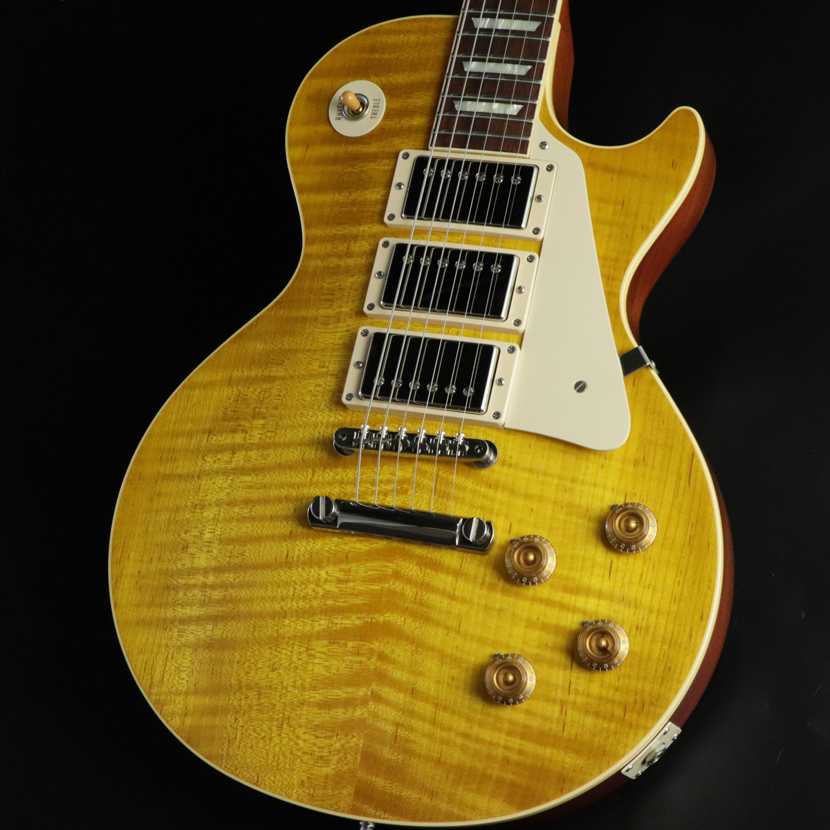 Gibson Custom Shop  1959 Les Paul Reissue 3PU Gloss Historic Collection Lemon Burst
