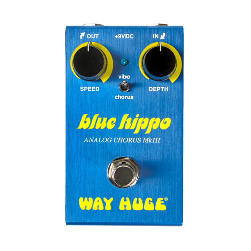 WAY HUGE WM61:SMALLS™ BLUE HIPPO™ ANALOG CHOR