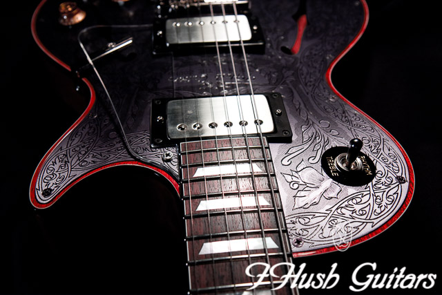 IHush Guitars  LP Pirate