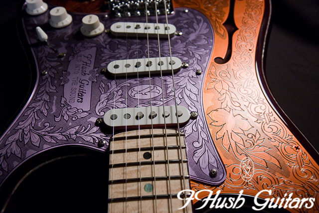 IHush Guitars  Strato Mucha
