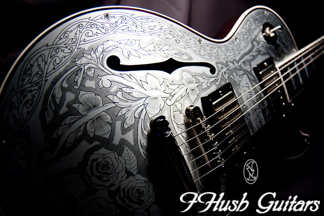 IHush Guitars LP Roses