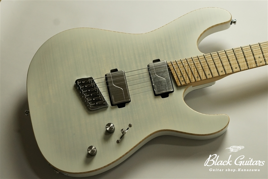 Altero Custom Guitars Astra Multi Scale - See-through White