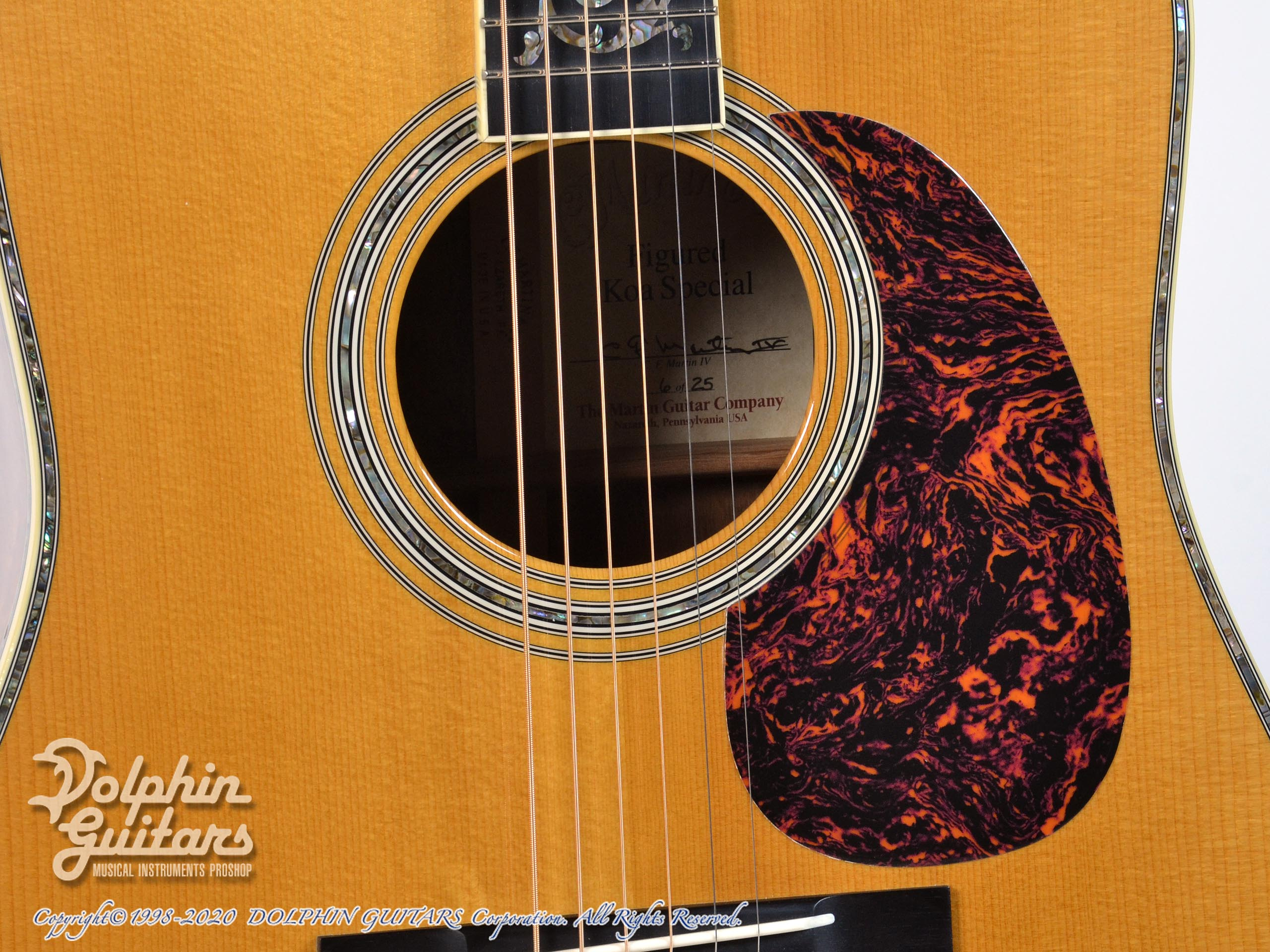 Martin Figured Koa Special【2005年製】