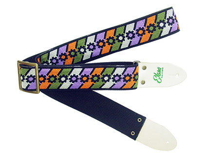 Elara Straps Flower Power Olive/Purple Heavy Nylon