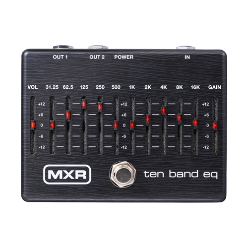 MXR M108SE 10-Band Graphic-EQ LIMITED BLK