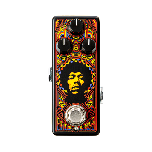 Jim Dunlop JHW4: Authentic Hendrix® '69 Psych Series Band Of Gypsys™ Fuzz