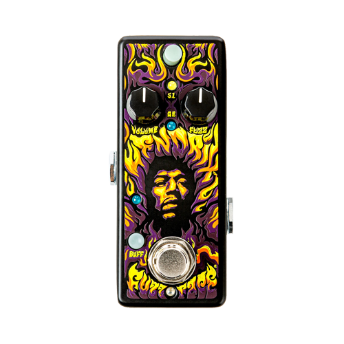 Jim Dunlop JHW1: Authentic Hendrix® '69 Psych Series Fuzz Face® Distortion