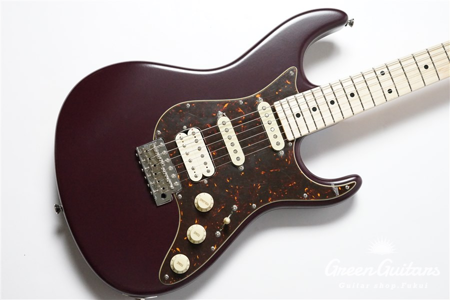 Freedom Custom Guitar Research EZa SSH Alder/Maple - WIN(Wine)